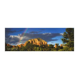 12 x 36 Rainbow in Sedona, AZ. Gallery Wrap Canvas