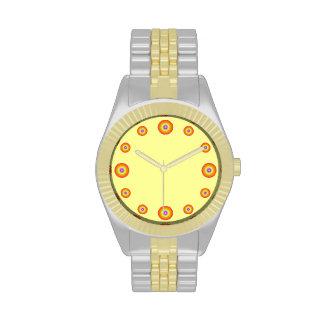 12 x hours template wrist watch