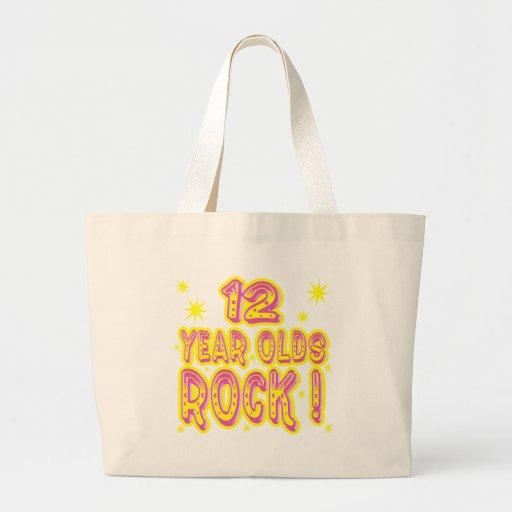 12 Year Olds Rock! (Pink) Tote Bag