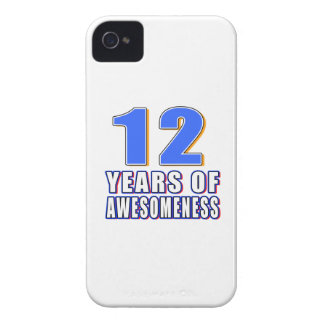 12 Years of Awesomeness Case-Mate iPhone 4 Case