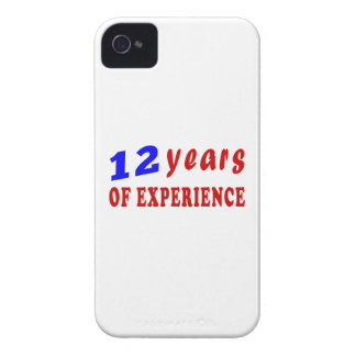 12 years of experience iPhone 4 cover