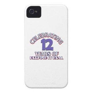 12 years of keeping it real iPhone 4 cover