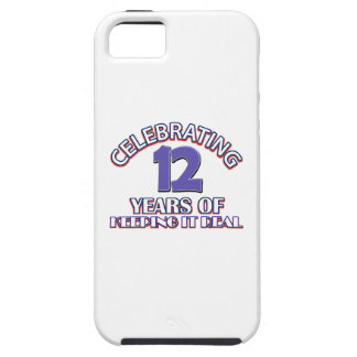 12 years of keeping it real iPhone 5 covers