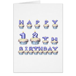 12 Years Old Card