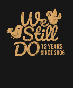 12 Years We Still Do 12th Wedding Anniversary Tee