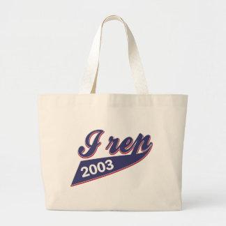 12 yeas old birthday design large tote bag