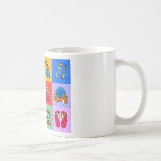 12 Zodiac signs cartoon style Coffee Mug