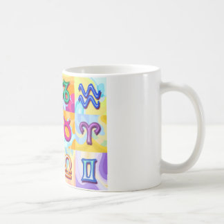 12 Zodiac signs Pop Art Coffee Mug