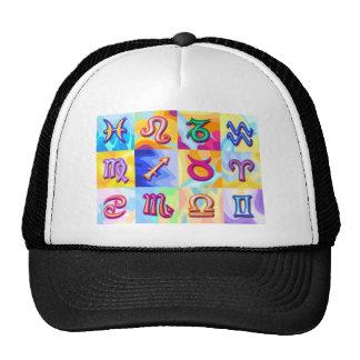 12 Zodiac signs Pop Art Trucker Hat