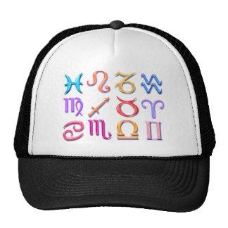 12 Zodiac signs Trucker Hat