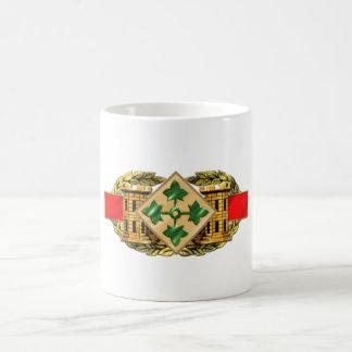 12B 4th Infantry Division Classic White Coffee Mug