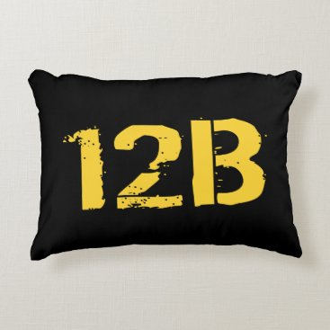12B - Combat Engineer Accent Pillow
