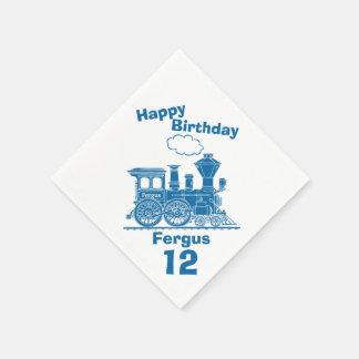12mas servilletas nombradas del cumpleaños de los servilleta de papel