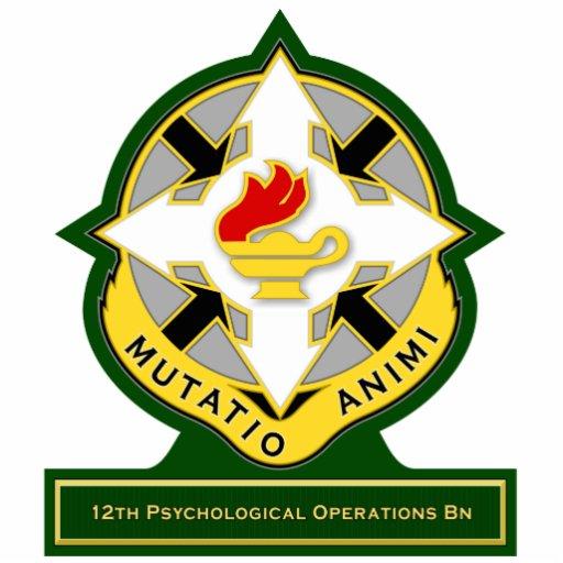 12mo Batallón DUI de las operaciones psicológicas Esculturas Fotograficas