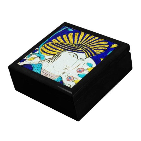 12mo CEN de la baldosa cerámica. de Kuwait - caja Joyero Cuadrado Grande