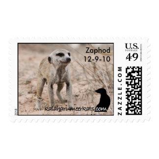 12mo franqueo del cumpleaños de Zaphod Timbres Postales