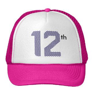 12mo gorra del hombre