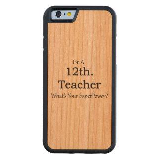 12mo. Profesor del grado Funda De iPhone 6 Bumper Cerezo