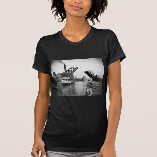 12mo Puente de báscula de la calle Chicago Illinoi Camiseta