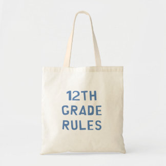 12mo Reglas del grado Bolsa Tela Barata