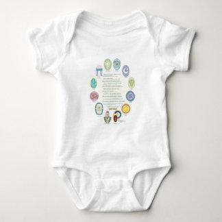 12Oraciones Por La Paz De Las Religiones Del Mundo Baby Bodysuit