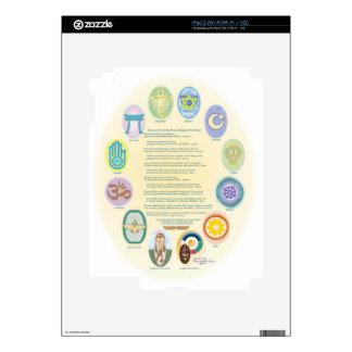 12Oraciones Por La Paz De Las Religiones Del Mundo iPad 2 Skins