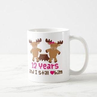 12th Anniversary Gift For Her Coffee Mug