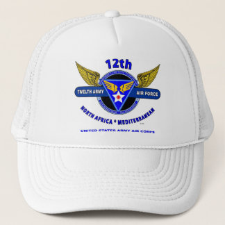 12th Army Air Force World War II Trucker Cap