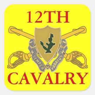 12TH CAVALRY STICKERS