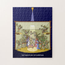 12th Day of Christmas (12 Drummers) Jigsaw Puzzle