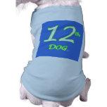 12th Dog Jersey Doggie T-shirt
