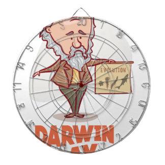 12th February - Darwin Day - Appreciation Day Dartboard