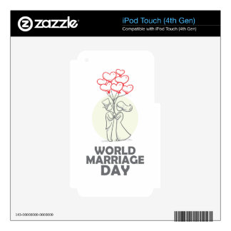 12th February - World Marriage Day Decal For iPod Touch 4G