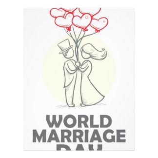 12th February - World Marriage Day Letterhead
