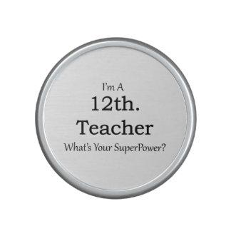 12th. Grade Teacher Speaker