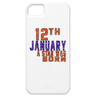12th January a star was born iPhone 5 Case