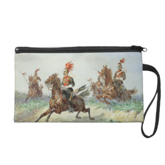12th Royal Lancers (w/c over pencil heightened wit Wristlets