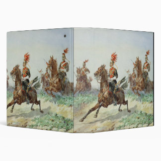 12th Royal Lancers (w/c over pencil heightened wit Vinyl Binder