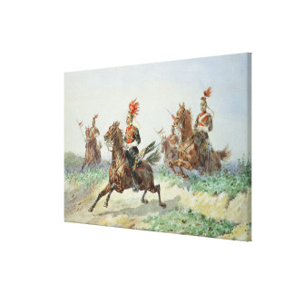 12th Royal Lancers (w/c over pencil heightened wit Canvas Prints