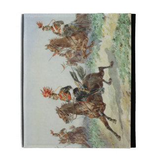 12th Royal Lancers (w/c over pencil heightened wit iPad Folio Case