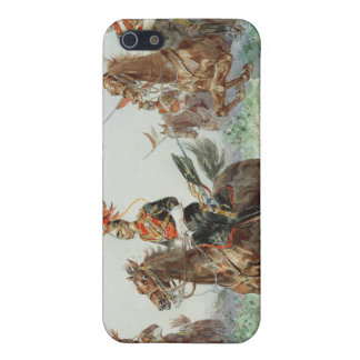 12th Royal Lancers (w/c over pencil heightened wit iPhone SE/5/5s Cover