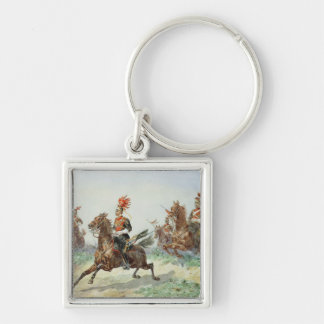 12th Royal Lancers (w/c over pencil heightened wit Keychain