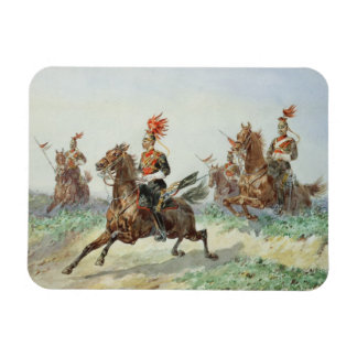 12th Royal Lancers (w/c over pencil heightened wit Magnet