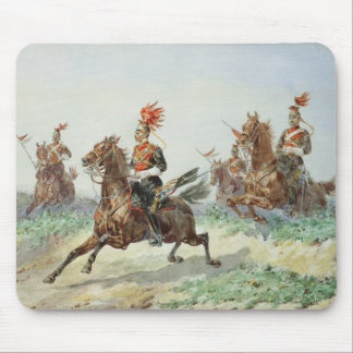 12th Royal Lancers (w/c over pencil heightened wit Mouse Pad