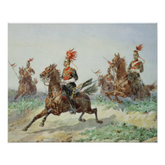 12th Royal Lancers (w/c over pencil heightened wit Posters