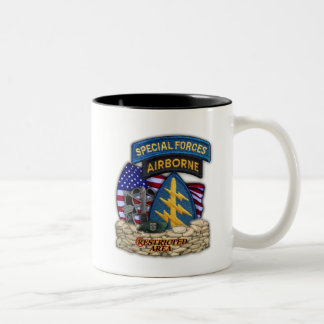 12th Special forces green beret flash veterans Cup Coffee Mugs