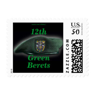 12th Special Forces Green Berets Postage stamp