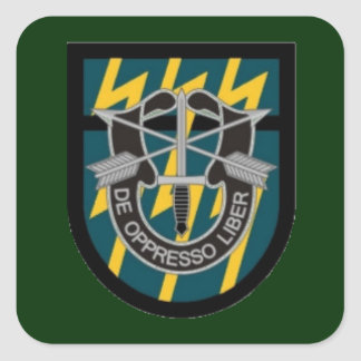 12TH SPECIAL FORCES GROUP FLASH/DUI STICKERS