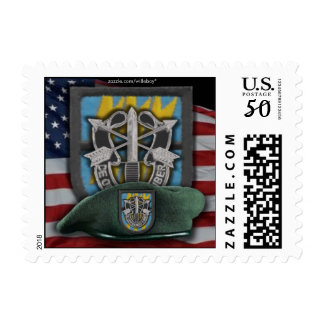 12th Special Forces vietnam Green Berets Postage S