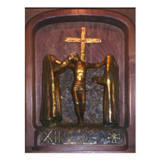 12th Station of the Cross Postcard